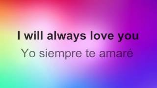 getlinkyoutube.com-♥ I'll Always Love You ♥ ~ Whitney Houston~Subtitulada inglés/español