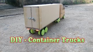 getlinkyoutube.com-How To Make Container Trucks RC