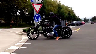 getlinkyoutube.com-Harley Davidson Breakout Softail Custom Umbau