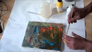 getlinkyoutube.com-Tipps für Anfänger der Acrylmalerei (14): Fünf neue Tricks