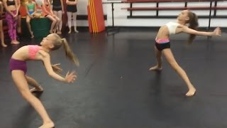 getlinkyoutube.com-Brynn Rumfallo & Maddie Ziegler | Sam Smith - How Will I Know | Choreography