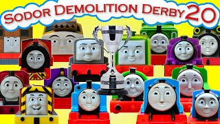 getlinkyoutube.com-Sodor Demolition Derby 20 | Thomas and Friends Trackmaster | Last Engine Standing