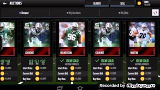 More live Snipes!! Madden Mobile 16