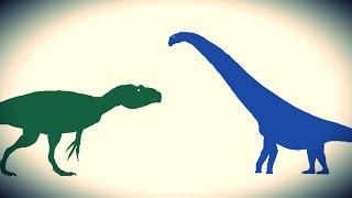 getlinkyoutube.com-PDFT - Allosaurus vs Futalognkosaurus