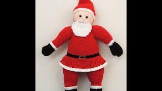 getlinkyoutube.com-Crochet: Querido Santa. Parte 2. Barba, Bigote y Gorro