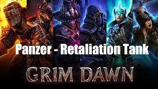 getlinkyoutube.com-Grim Dawn v0.3.7.4(b30) - Panzer, Retaliation Tank Build