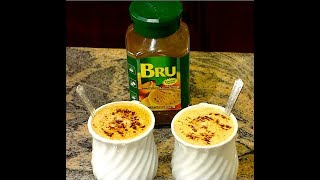getlinkyoutube.com-How to make BRU Instant Coffee and Roasted Chicory | Quick & Easy BRU Coffee