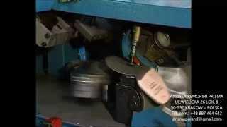 Insoles automatic trimming machine: Ukosowarka automatyczna podpodeszwy..................FRA96
