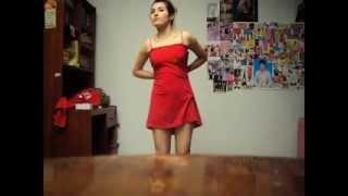 getlinkyoutube.com-tres vestidos en uno ! con el polo de mi papa ejejej!
