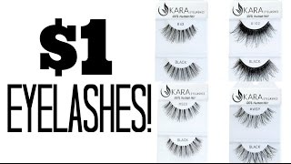 Product Alert! $1 Kara Eyelashes & LA Girl HD Concealers!