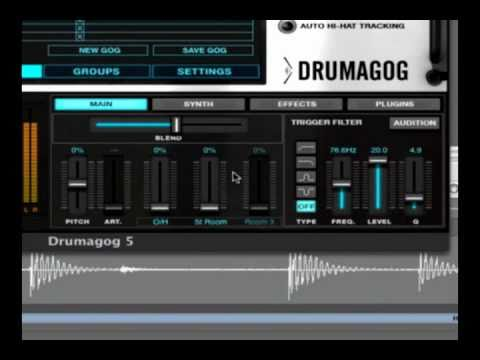 Drumagog 5 Quick Tutorial