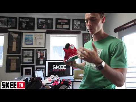 Skee Locker: Air Jordan VII Raptor, Foamposite Crimson, Lebron Liverpool, AM90 Hyp Unboxing & Review