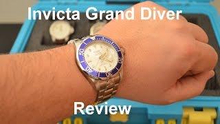 getlinkyoutube.com-Invicta Grand Diver Automatic Review