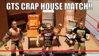 getlinkyoutube.com-GTS WRESTLING: Hardcore House match! WWE mattel action figure matches animation Cena Orton Bryan