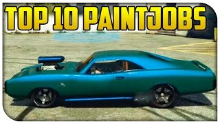 "getlinkyoutube.com-Top 10 ""Best Looking Paint Jobs"" in GTA 5 Online! (Touch Up Tuesday)"