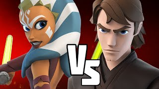 getlinkyoutube.com-ANAKIN VS AHSOKA - Disney Infinity BATTLES!