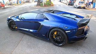 getlinkyoutube.com-LOUD Capristo Exhaust Lamborghini Aventador Roadster