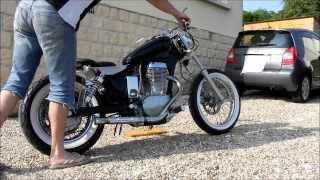 getlinkyoutube.com-Suzuki ls 650 savage bobber