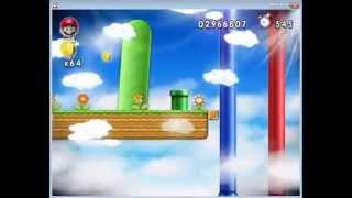 getlinkyoutube.com-New Super Mario Forever 2012 [PC] Walkthrough - Map 6
