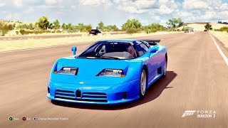 getlinkyoutube.com-Forza Horizon 3 Bugatti EB110 Super Sport