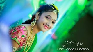 Sritha Half Saree function..