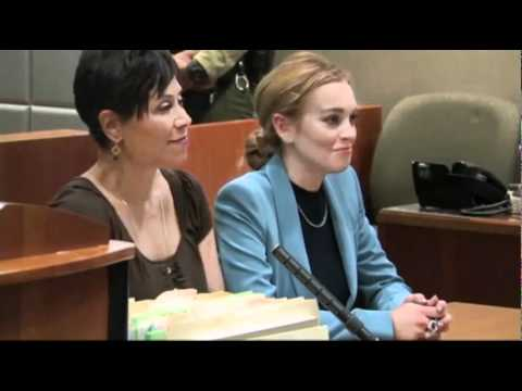 Lindsay Lohan in Court March 2012