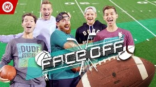 getlinkyoutube.com-DUDE PERFECT Football Skills Edition | FACEOFF