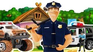 getlinkyoutube.com-Cartoni animati per bambini piccoli maschi - Giochiamo con macchine fuoristrada -  giocattoli