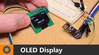 getlinkyoutube.com-ESP8266 Module - OLED Display