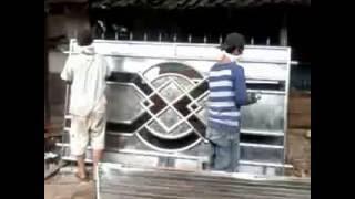 getlinkyoutube.com-pintu stainless steel
