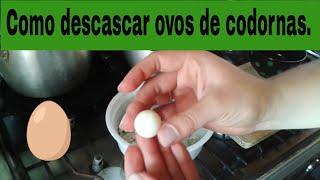 getlinkyoutube.com-Como descascar ovos de codorna
