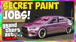 "getlinkyoutube.com-GTA 5 Paint Jobs: SECRET ""Colored Chrome"" Paint Job RETURNS! ""GTA 5 Rare & Secret Paint Jobs Online"""