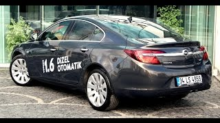 getlinkyoutube.com-Test - Opel Insignia 1.6 CDTI Otomatik