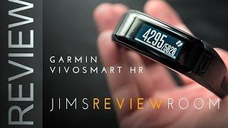 getlinkyoutube.com-Garmin VivoSmart HR - REVIEW