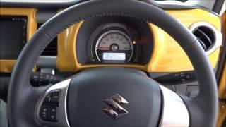 getlinkyoutube.com-スズキ ハスラー Xターボ(ターボ車にもS-エネチャージ搭載)2015展示車撮影!