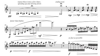 getlinkyoutube.com-Edifice (for bass clarinet and piano), by David Bennett Thomas
