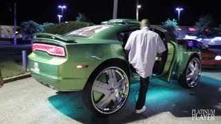getlinkyoutube.com-KING KONG DODGE CHARGER on 32 INCH DUB HAM