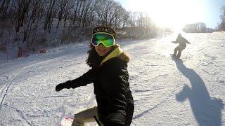getlinkyoutube.com-Rider JH (Gopro & Feiyu G4 3-Axis Gimbal- FY-G4) Snowboard