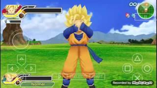 Dragon ball z tenkaichi tags team fusion is awsome