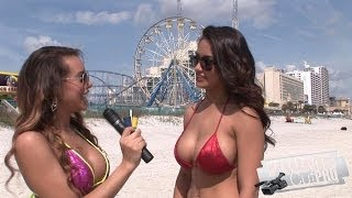 getlinkyoutube.com-Bikini Beach - Angelina interviews Nikki Rae