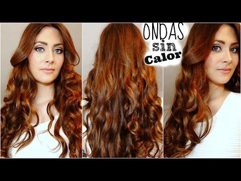 Cómo hacer Ondas o rizos sin calor (Sin Planchas). Sin Dañar tu cabello! Heatless Curls