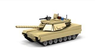 getlinkyoutube.com-Lego M1A1 Abrams, Instructions