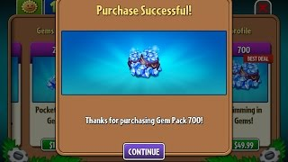 getlinkyoutube.com-HACK Plants vs Zombies 2 - Purchased all Plants, Coins and Gems!