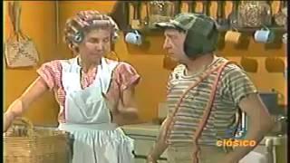 CHESPIRITO 1979/1981- El Chavo del Ocho- Los ratones en el restaurante- parte 1 HD