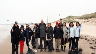 Beach Clean Up with Miss Scuba UK