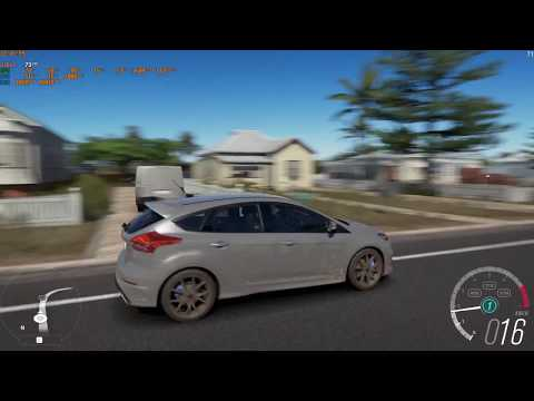 Forza Horizon 3 Ford Focus RS 2017 Gameplay 1080p