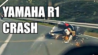 getlinkyoutube.com-Yamaha R1 CRASH