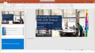 getlinkyoutube.com-Microsoft Dynamics NAV 2016 Financial Enhancements