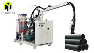 China High Pressure PU (polyurethane) Foam Machine For Pipe Insulation