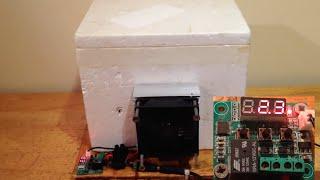 getlinkyoutube.com-Temperature-controlled Peltier Mini Fridge (Thermoelectric)